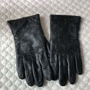 Vintage US Army Insulated Leather Gloves, sz 5